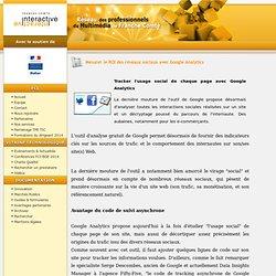 Franche-Comté Interactive - Mesurer le ROI des réseaux sociaux avec Google Analytics