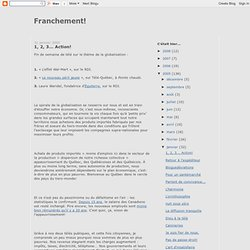 (Franchement!) Bloguedéviations
