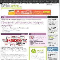 Compta.com : une franchise chez les experts-comptables !