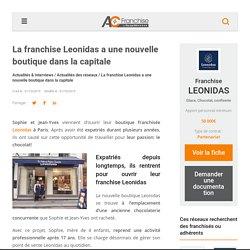 La franchise Leonidas a une nouvelle boutique dans la capitale