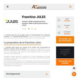 Franchise Jules : Prêt-à-porter pour hommes - Devenir franchisé Jules !