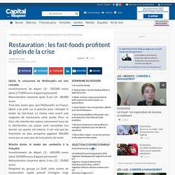 Devenir franchisé, ça peut rapporter gros -Restauration : les fast-foods profitent à plein de la crise