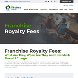 Find Out the Best Franchise Royalty Fee for Your Business