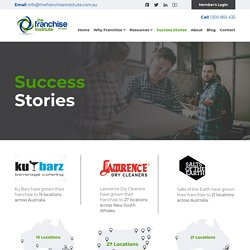 Unmatched Success Stories in Franchising Industry