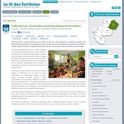 LE FIL DES TERRITOIRES 08/01/14 Vallée du Loir : les circuits courts franchissent les frontières