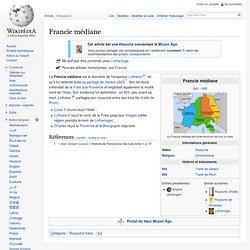Francie médiane