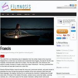 Francis short film & analysis - Filmnosis