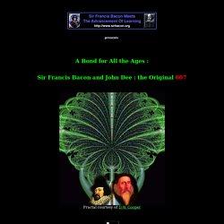 Francis Bacon & John Dee