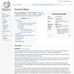 Francis le Belge