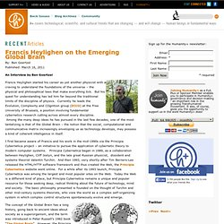 Francis Heylighen on the Emerging Global Brain
