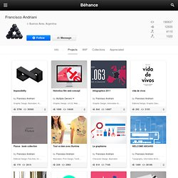 Francisco Andriani on the Behance Network