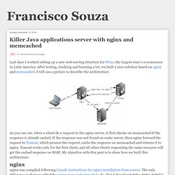Killer Java applications server with nginx and memcached | Francisco Souza