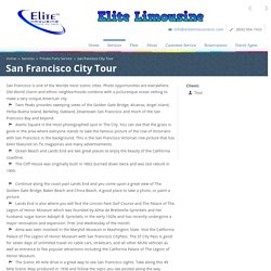 San francisco limo tours