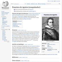 Francisco de Aguirre (conquistador)