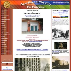 San Francisco Fire Department Museum ~ Home Page