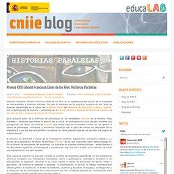 Premio XXIX Edición Francisco Giner de los Ríos: Historias Paralelas
