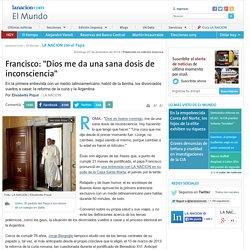 """Francisco: """"Dios me da una sana dosis de inconsciencia"""" - 07.12.2014 - lanacion.com"""