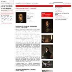 Fiche artiste: Francisco de Goya y Lucientes