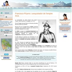 Francisco Pizarro - Histoire de Bolivie