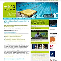 Web 2.0 Expo San Francisco 2010 - Co-produced by TechWeb & O'Rei