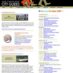 San Francisco Walking Tours | City Guides