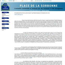 """Place de la Sorbonne - La """"francité"""" de l'Institut Montaigne : d"""