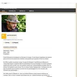 Franck Bouysse (auteur de Grossir le Ciel)