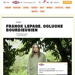 Franck Lepage. Coluche bourdieusien