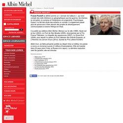 F. Pavloff - Fiche auteur sur le site de l'éditeur Albin Michel