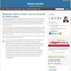 Franck Perrier : Business Goes Digital