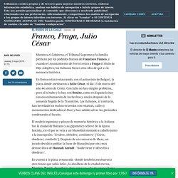 Franco, Fraga, Julio César