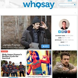 James Franco's photos on WhoSay