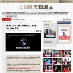 François Asselineau sur Polony TV