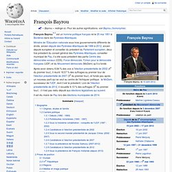 Page Wikipédia