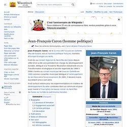 Jean-François Caron / Maire de Loos-en-Gohelle
