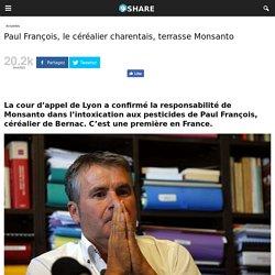 Paul François, le céréalier charentais, terrasse Monsanto -
