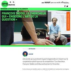 François Taddei, le chercheur qui « enseigne l'art de la question »