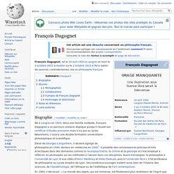 François Dagognet
