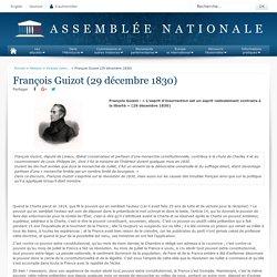 François Guizot (29 décembre 1830) - Histoire - Grands moments d'éloquence