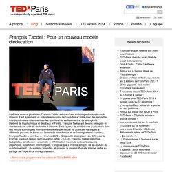 François Taddei : Pour un nouveau modèle d'éducation