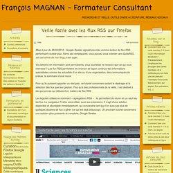 Veille facile avec les flux RSS sur Firefox