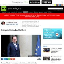 François Hollande et le Brexit