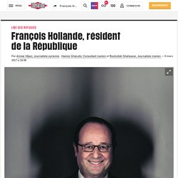 François Hollande, résident delaRépublique