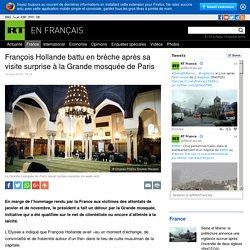 François Hollande battu en brèche après sa visite surprise à la Grande mosquée de Paris