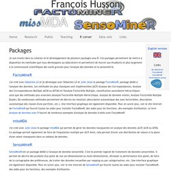 François Husson - R corner