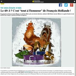 """Le 49-3? C'est """"tout à l'honneur"""" de François Hollande!"""