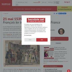 21 mai 1539 - François 1er introduit la loterie en France - Herodote.net