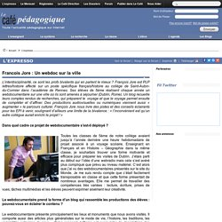 Francois Jore : Un webdoc sur la ville