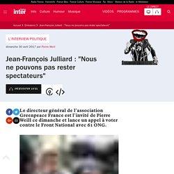 """""""Nous ne pouvons pas rester spectateurs"""" Greenpeace France avec 61 ONG"""