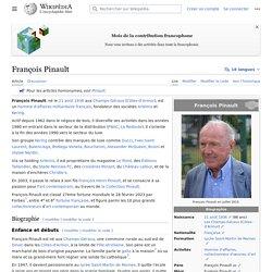 ASCENSION SOCIALE François Pinault
